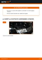 Üzemanyagszűrő cseréje: pdf útmutatók AUDI A4