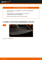 Lépésről-lépésre PDF-útmutató - AUDI A4 Avant (8E5, B6) Lengőkar csere