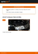 Tiešsaistes bezmaksas instrukcijas kā atjaunināt Degvielas filtrs AUDI A4 Avant (8E5, B6)