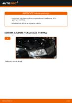 Audi A4 b6 remonto ir priežiūros instrukcija