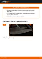 Kaip pakeisti bagažinės dangčio dujines spyruokles automobiliui AUDI A4 B6 (8E5)