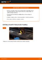 Kaip pakeisti priekinius stabdžių diskus AUDI A4 B6 (8E5)
