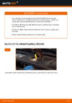 Cum înlocuim discurile de frână față pe AUDI A4 B6 (8E5)