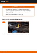 Cum se înlocuiesc plăcuțele din față ale frânei cu disc AUDI A4 B6 (8E5)