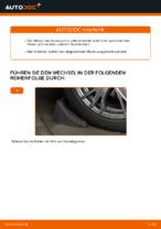 PEUGEOT Axialgelenk Spurstange wechseln - Online-Handbuch PDF