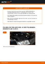 Wie Bremssattel Reparatursatz beim AUDI A4 Avant (8E5, B6) wechseln - Handbuch online