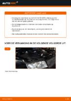 Hoe u de achterremschijven van een AUDI A4 B6 (8E5) kunt vervangen