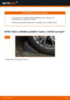 Comment remplacer l'arbre inférieur de la suspension indépendante avant sur une AUDI A4 B6 (8E5)