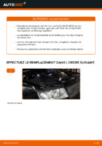 Comment remplacer des disques de frein arrière sur une AUDI A4 B6 (8E5).