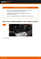 Comment remplacer les plaquettes de frein à disque arrière sur une AUDI A4 B6 (8E5)