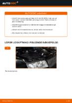 Hvordan bremseskiverne bag på AUDI A4 B6 (8E5) udskiftes