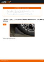 Cómo cambiar la palanca inferior de la independiente suspensión delantera en AUDI A4 B6 (8E5)