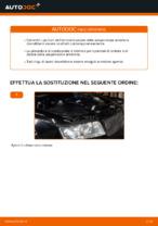 Cambiare Ammortizzatori AUDI A4: manuale tecnico d'officina