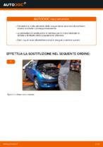 Cambio Molla autotelaio istruzioni pdf per PEUGEOT 206