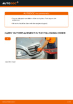 Step-by-step repair guide for MERCEDES-BENZ M-Class