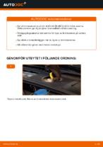 Hur man byter ut en främre bromsskiva på AUDI A4 B6 (8E5)