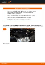 Kuinka vaihdat takajarrulevyt AUDI A4 B6 (8E5)-autoon