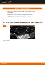 Kuinka vaihtaa takajarrupalat levyjarruihin autoon AUDI A4 B6 (8E5)