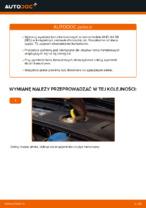 W jaki sposób wymienić przednie tarcze hamulcowe w AUDI A4 B6 (8E5)