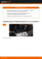 Jak wymienić klocki hamulcowe tylnego hamulca tarczowego w AUDI A4 B6 (8E5)