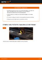 Ako vymeniť predné brzdové kotúče na AUDI A4 B6 (8E5)