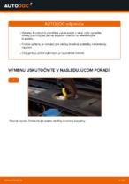 Ako vymeniť predné brzdové platničky kotúčovej brzdy na AUDI A4 B6 (8E5)