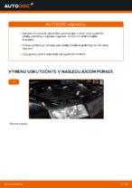 Ako vymeniť zadné brzdové platničky kotúčovej brzdy na AUDI A4 B6 (8E5)