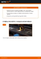 Jak vyměnit přední brzdové destičky kotoučové brzdy na AUDI A4 B6 (8E5)