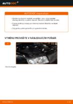 Jak vyměnit zadní brzdové destičky kotoučové brzdy na AUDI A4 B6 (8E5)