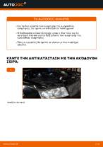 Αλλαγή Αμορτισέρ AUDI A4: εγχειριδιο χρησης