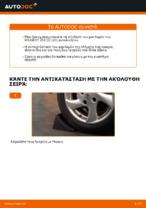 Πότε πρέπει να αλλάξει Σετ ρουλεμάν τροχού PEUGEOT 206 CC (2D): εγχειριδιο pdf