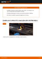 Vgraditi Zavorne Ploščice AUDI A4 Avant (8E5, B6) - priročniki po korakih