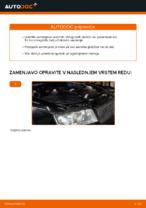 Naučite se odpraviti težave z spredaj in zadaj Zavorne Ploščice AUDI