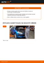 Substituir Molas de compressão traseiro esquerdo direito PEUGEOT 206: tutorial online