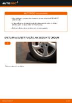 Mudar Jogo de rolamentos de roda: instrução pdf para PEUGEOT 206