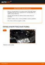 Kaip pakeisti galinius stabdžių diskus AUDI A4 B6 (8E5)