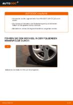PEUGEOT 206 CC (2D) Zahnriemen und Wasserpumpe: Online-Handbuch zum Selbstwechsel