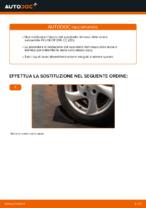 Sostituzione Kit cuscinetto ruota posteriore e anteriore PEUGEOT 206: tutorial online