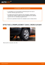 Changement Bras de Suspension BMW X5 : manuel d'atelier