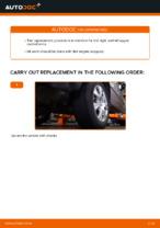 Changing Control Arm BMW X5: workshop manual