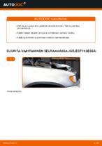 Kuinka vaihtaa etujarrupalat levyjarruihin autoon BMW X5 (E53)