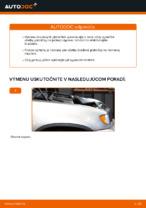 Ako vymeniť zadné brzdové platničky kotúčovej brzdy na BMW X5 (E53)