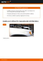 Kako zamenjati sprednje zavorne ploščice za kolutne zavore na BMW X5 (E53)