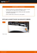 Como substituir pastilhas de travão traseiras do travão de disco de BMW X5 (E53)