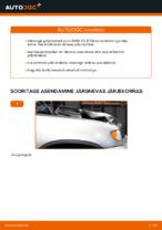 BMW - remondi käsiraamatud koos illustratsioonidega
