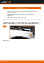 Kuidas vahetada tagumisi piduriklotse või pidurikettaid BMW X5 (E53)