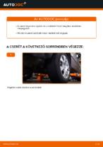 Útmutató: BMW X5 (E53) független hátsó felfüggesztés felső lengőkar csere