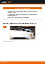 BMW X5 (E53) tárcsafék hátsó fékbetét csere
