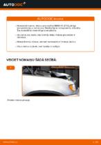 Kā nomainīt BMW X5 (E53) priekšējos bremžu diskus