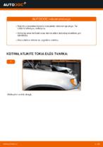 Kaip pakeisti priekinių diskinių stabdžių kaladėles BMW X5 (E53)